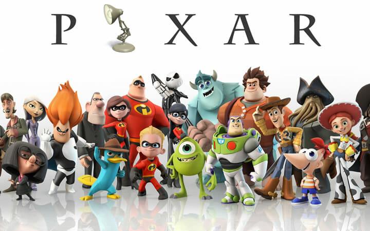 Pixar Characters - Translation Royale