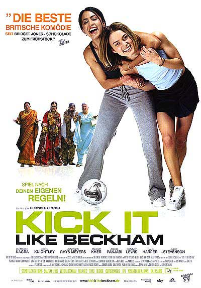 Kick it like Beckham - movie poster
