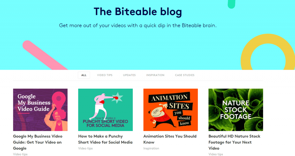 Biteable Blog - Top 11 content marketing blogs - Translation Royale