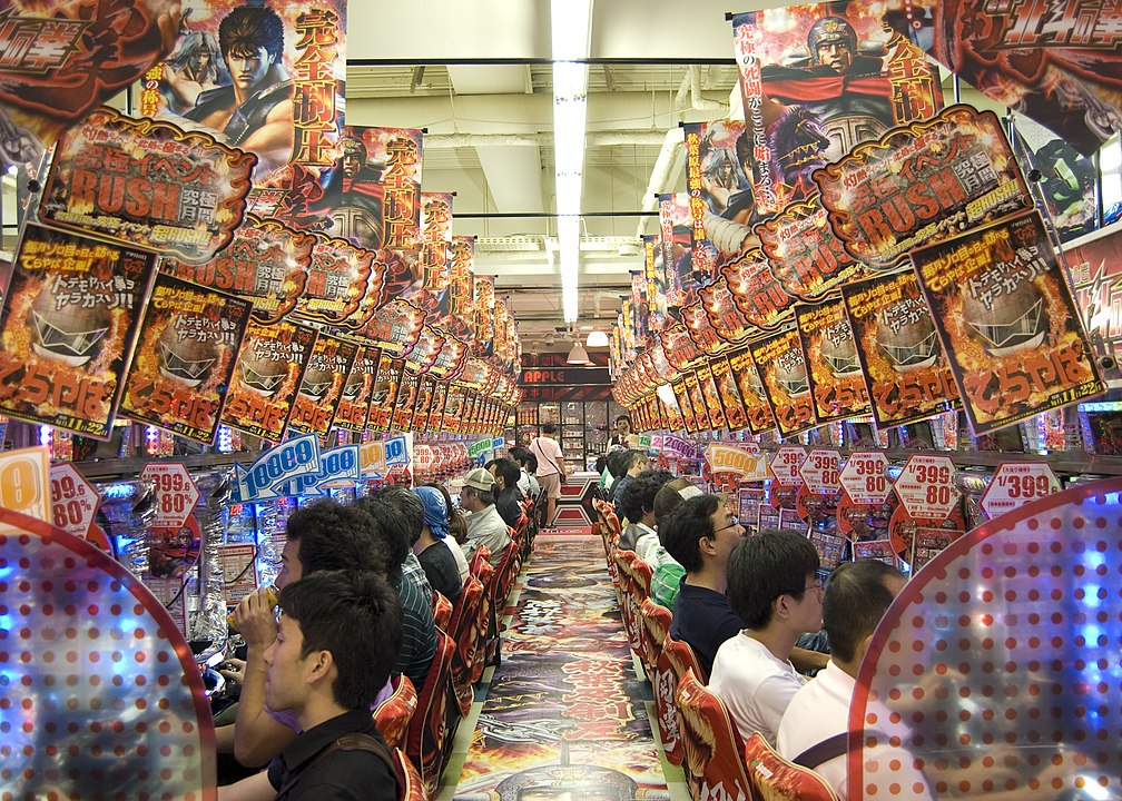 Pachinko - Top 5 Gambling Activities in Asia - Translation Royale