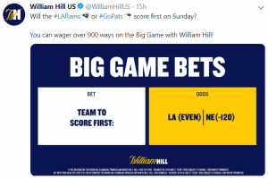 William Hill US Twitter - 6 Benefits of Social Media Localization - Translation Royale