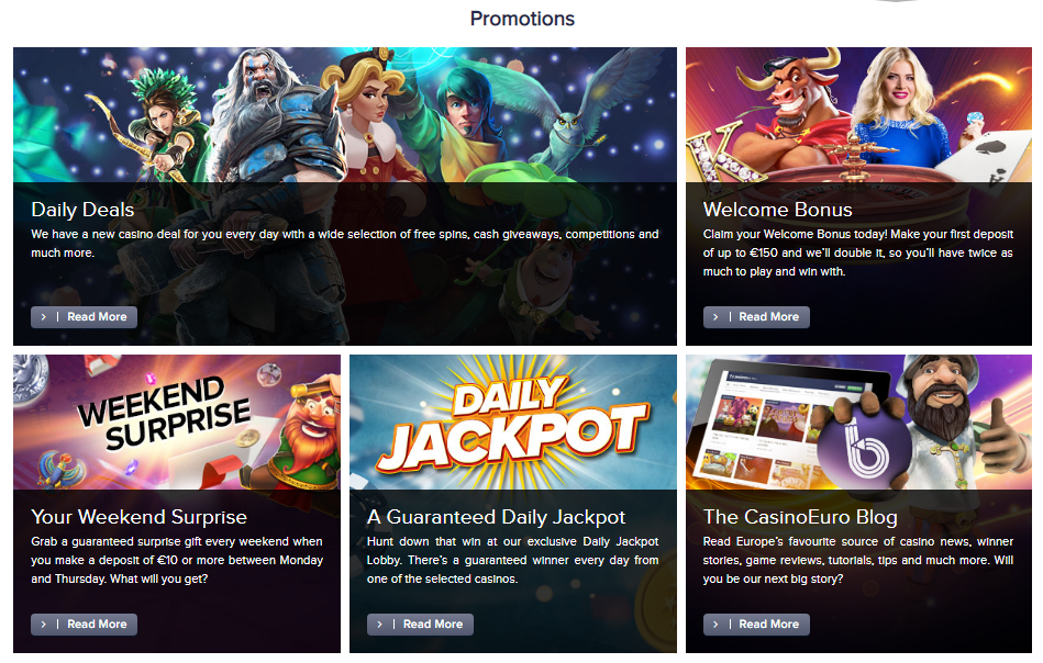 CasinoEuro - Top 10 tips for choosing the best online casinos - Translation Royale