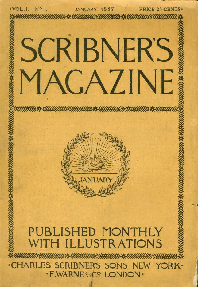 Scribner's Magazine Volume 1 - History of Content Marketing Part 1 - Translation Royale