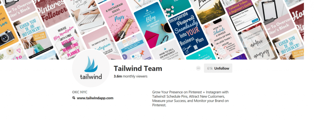 Tailwind Pinterest - Top Content Marketing Pinterest Accounts - Translation Royale