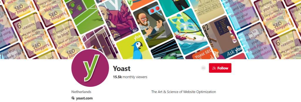 Yoast Pinterest - Top Content Marketing Pinterest Accounts - Translation Royale