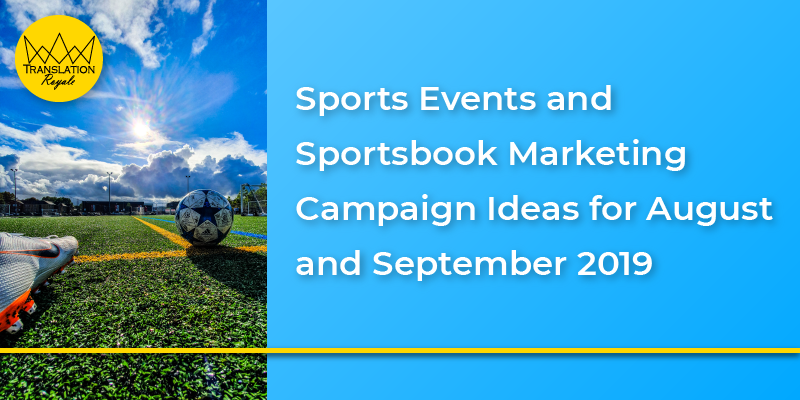Major Sports Events (August and September) copy