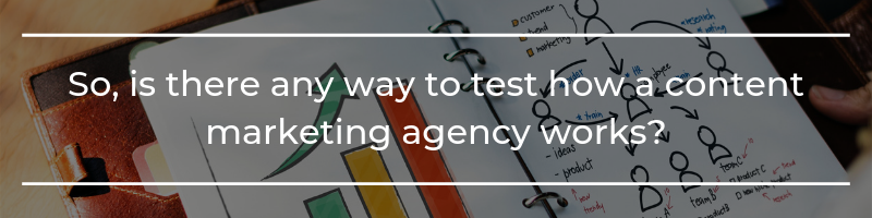 Ways to test how a content marketing agency works - Translation Royale