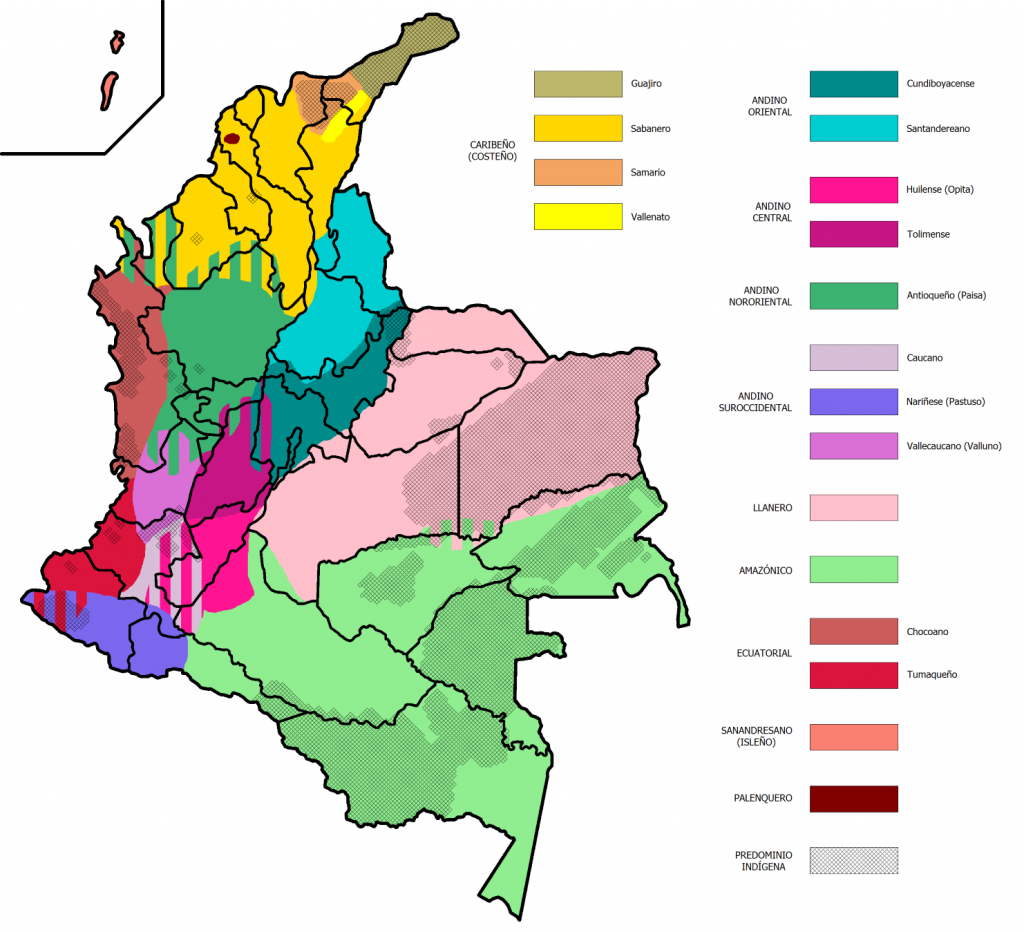 Spanish Dialects Spoken in Colombia - Localizing in Latin American Spanish - Translation Royale