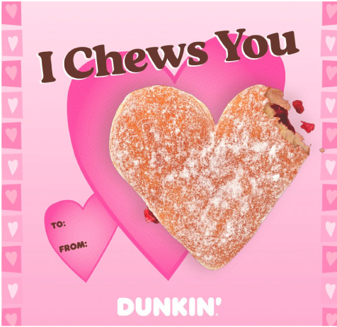 Dunkin Donuts Pun- Valentines day marketing ideas for iGaming companies - Translation Royale