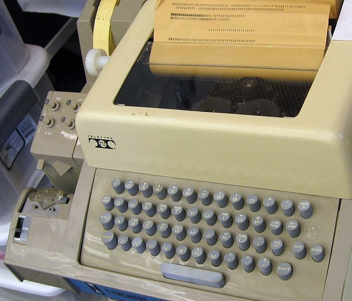 Teletype in the 1960s - The History of Unicode and Its Role in the Digital World -Translation Royale