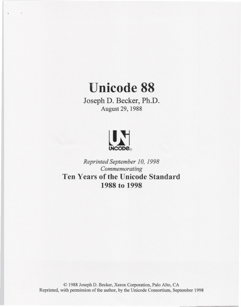 unicode88 - The History of Unicode and Its Role in the Digital World -Translation Royale