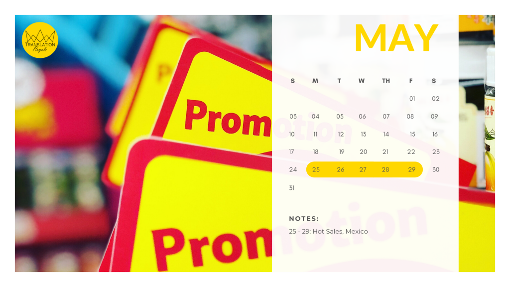May - Marketing Calendar for the Latin American iGaming Market - Translation Royale