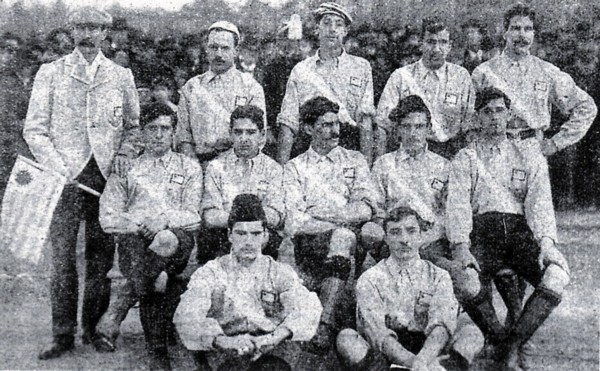 Uruguay team 1902 - Football Rivalries in Latin America - Translation Royale