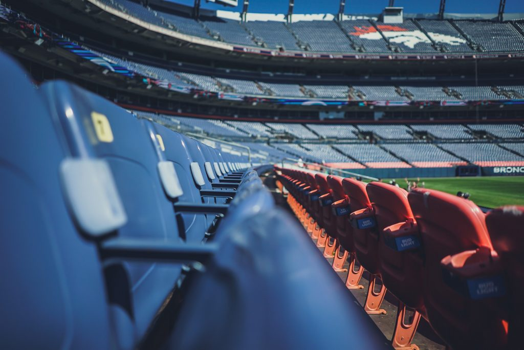 Empty Sports Stadium - The impact of COVID-19 on the online gambling and sports betting industry - Translation Royale