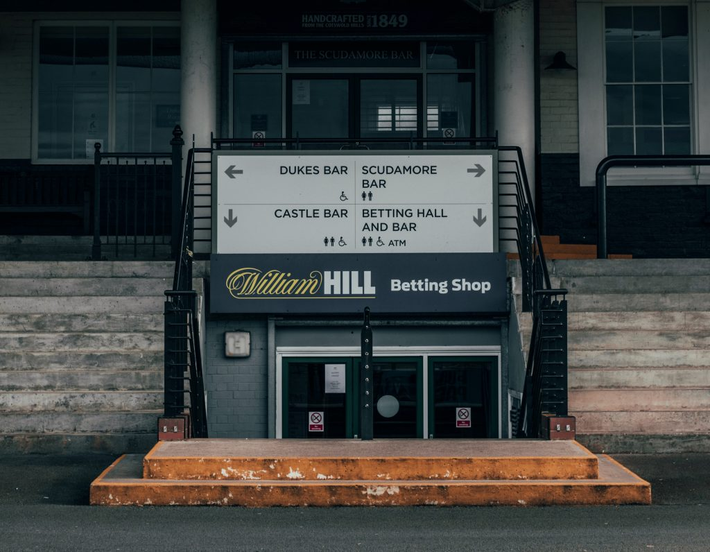 William Hill Betting Shop - The impact of COVID-19 on the online gambling and sports betting industry - Translation Royale