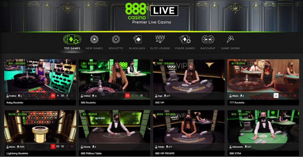 888 Live Casino - The 2021 Guide to iGaming Content Planning - Translation Royale