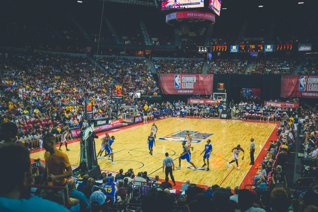 Basketball Court - The 2021 Guide to iGaming Content Planning - Translation Royale
