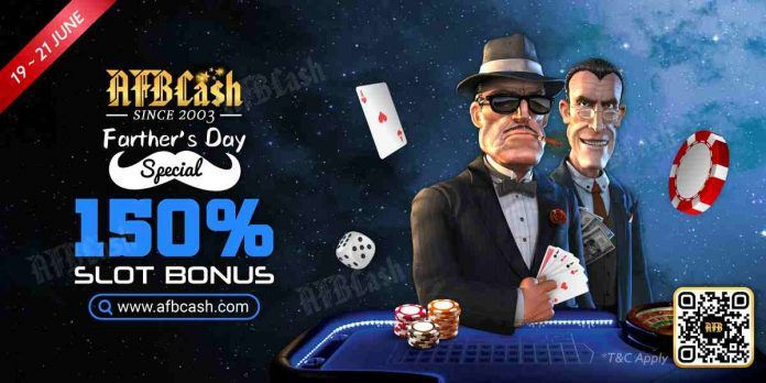 AFBcash.com Father's Day Slot Bonus - Father's Day iGaming Marketing Done Right - Translation Royale