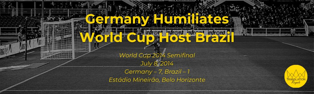 Germany Wins the 2014 World Cup - The Top 10 Most Memorable Sports Moments of the 2010s - Translation Royale