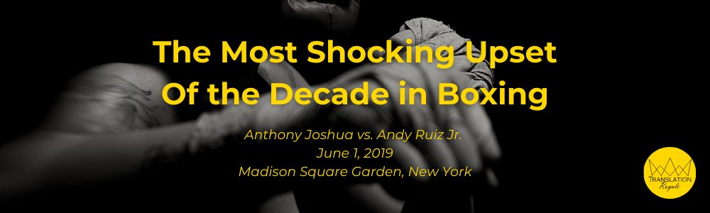 The Most Shocking Moment in Boxing - The Top 10 Most Memorable Sports Moments of the 2010s - Translation Royale